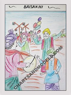 Buy Baisakhi Charts Online In Delhi. Online Charts and Models provides Baisakhi charts online for your children.