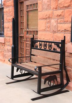 CNC Plasma Cutting Metal Bench in a Outlaw, Cowboy, Sheriff theme. Make your own plasma cut metal art! Metal Projects, Welding Projects, Metal Crafts, Art Projects, Welding Art, Metal Tree Wall Art, Metal Artwork, Tree Artwork, Dremel
