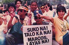 edsa revolution 1986 [the philippines]