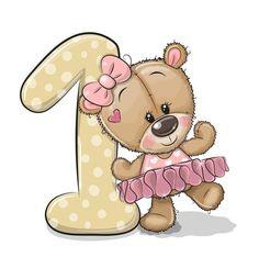 Bear Drawing, Drawing For Kids, Cute Sloth, Cute Owl, Tatty Teddy, Teddy Bear, Unicorns, Pug, Urso Bear