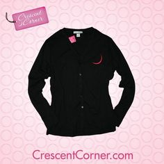 crescent moon cardigan