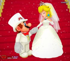 === Mario X Peach: Happily Married === One Man, One Woman with hearts so true come before you to say I do. Mario X Peach: Happily Married Super Mario Princess, Mario And Princess Peach, Nintendo Princess, Super Mario Art, Mario Kart, Mario Bros., Mario And Luigi, Metroid, Peach Mario