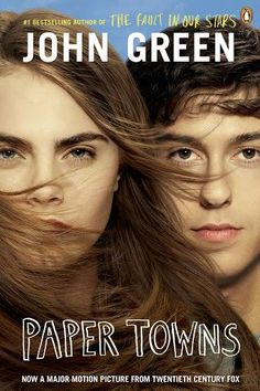 Paper Towns - John Green ( I want to pull a Margo and have an all nighter and get back at the people who wronged me