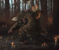 Vulture by Jens Kuczwara - ImaginaryMonsters Fantasy Warrior, Fantasy Rpg, Dark Fantasy Art, Fantasy Artwork, Fantasy Races, Larp, Fuerza Natural, Character Art, Character Design