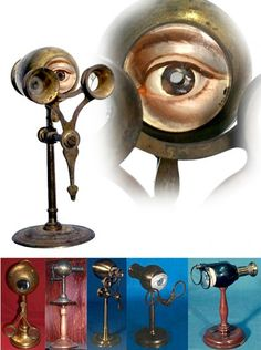 The Demonstration Eye dates to the 19th century and was the first device to let the doctor experience eye problems from a patients point of view.