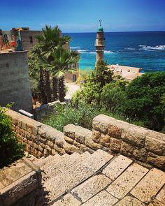 Le Old Jaffa rues, Tel-Aviv, Israël - Photo