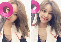Check out the beautiful selfies from SNSD's TaeYeon and SooYoung