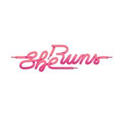 Typography :: She Runs by Lukas Karasek