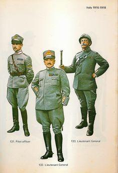 Pilot Uniform, Italian Army, World War One, Soviet Union, Military Jacket, Military Uniforms, Dieselpunk, Troops, Battle