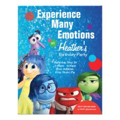 Inside Out Birthday Card