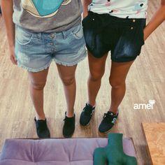 Me JEANSseram que tem PROMO❤️ R$50,00 Jeans✨ #lojaamei #promo #jeans #muitoamor #shorts #lindos