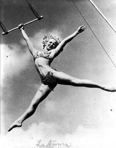 Swinging trapeze vintage
