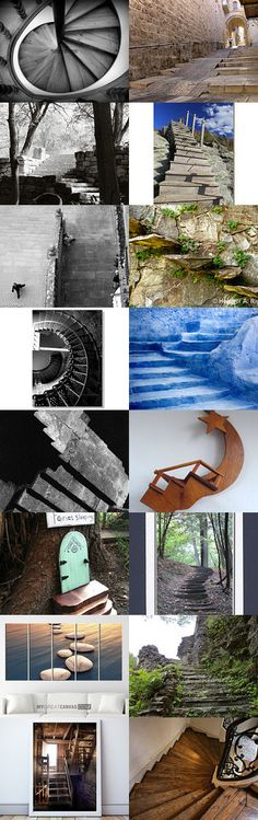 Stairways to Heaven by Johanna on Etsy--Pinned with TreasuryPin.com