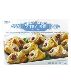 Pigs in blankets from Trader Joes