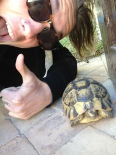 Jamie Campbell Bower made a friend