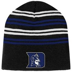 Duke Blue Devils Cap : Duke Blue Devils Freeze Thermal Beanie Hat - Black Colosseum. $12.95
