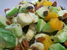 Lite Fruit Salad With Honey Poppy Seed Dressing by Paula Deen