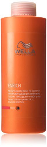 Wella Enrich Moisturising Conditioner 1000ml Coarsethick >>> Check out this great product by click affiliate link Amazon.com