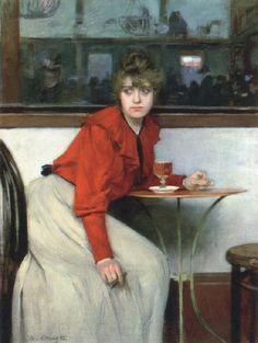"""испанский художник Рамон Касас Карбо (Ramon Casas, 1866 - 1932), критика называет его работы """"зеркалом каталонского модернизма""""."""