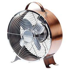 Found it at Wayfair - Retro Table Top Fan in Copper
