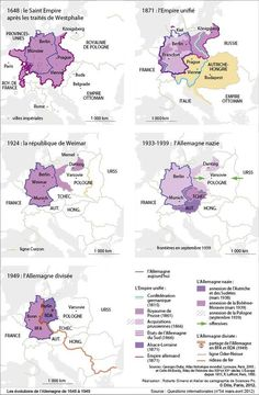 "Evolution of ""Germany"" 1648-1949"