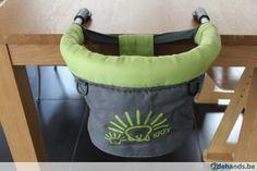Tafelhangstoel IGGY Green Grey
