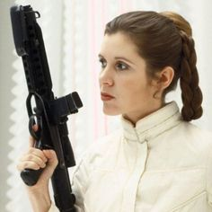 Thoughts and prayers with Carrie Fisher a badass princess who showed me what a real woman was like. Be will Leia.   #carriefisher #starwars #princessleia #prayers