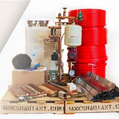 Janes Radiant Company specializes in custom radiant floor heating kits for small. Janes Radiant Co Radiant Heating System, Radiant Floor, Heating Systems, Camping Ideas, Plumbing, New Homes, Kitchen Appliances, Flooring, Modern