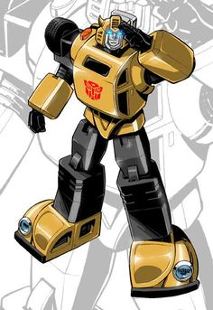 Loved Transformers when I was little. Bumblebee was my favorite, he was so cute as a little VW Beatle, not that his new camaro form isn't sweet too...but I just wish they'd stop changing all the stuff I loved as a kid!