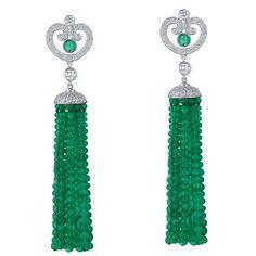Earrings by Fabergé