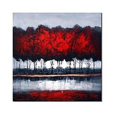 hand-painted-oil-painting-abstract-woods-oil-painting-with-stretched-frame