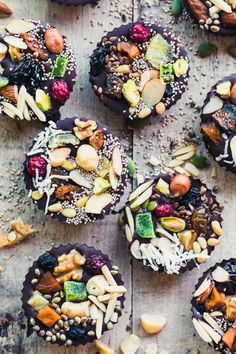 Detox Dark Chocolate Almond Butter Cups | The View from Great Island