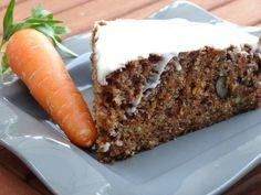 Cake aux carottes (son d'avoine)