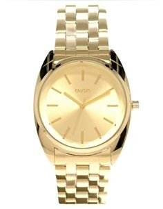 5d41bea52d6 Oasis Gold Bracelet Watch - StyleSays Going For Gold