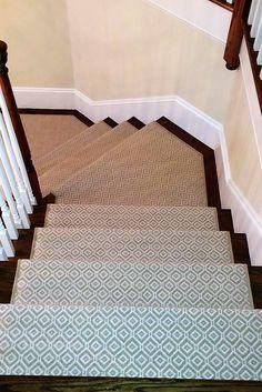 30 Best Modern Stair Runner Carpets Images In 2020 Stair Runner | Modern Carpet Runners For Stairs | Geometric | Design | White | Curved | Kitchen Modern
