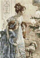 Victorian Mother and Daughters