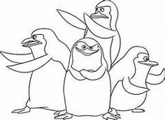 christmas coloring pages madagascar - photo#12