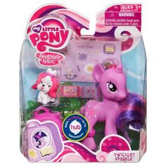 MLP Traveling Single Wave 1 Twilight Sparkle Brushable Figure