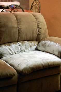 Someone vomit all over your couch and after cleaning it up there's still an odor? Use baking soda- it absorbs the odor!