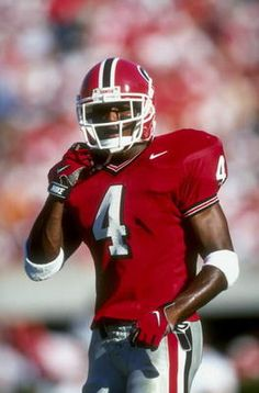Champ Bailey # 4 Georgia Bulldogs CB