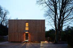 Prix national de la construction bois - PNCB 2013 - MAISON CUBE