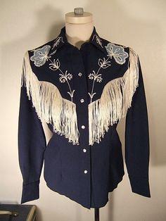 80's H Bar C Western Shirt