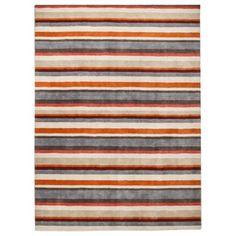 Threshold Stripe Area Rug - Gray