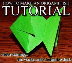 Tutorials on Everything: Origami: Fish
