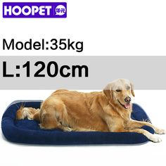 Large Dog Bed Big Size Pet Cushion Warm Sleeping Bed