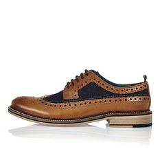 Shop the latest men's shoes and boots with the River Island collection. From trainers to sandals and smart brogues to sliders, find our men's shoes here. Denim Shoes, Brogues, Casual Shoes, Trainers, Brown Leather, Shoe Boots, Oxford Shoes, Dress Shoes, Lace Up