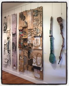 Lorna Crane Art #reference #wall and #oversize #brushes