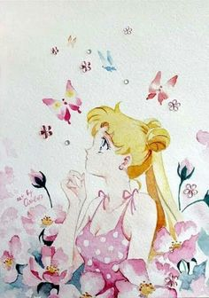 Arte Sailor Moon, Sailor Moon Stars, Sailor Chibi Moon, Sailor Moon Crystal, Sailor Moon Aesthetic, Sailor Moon Wallpaper, Famous Artwork, Anime Drawings Sketches, Sailor Scouts