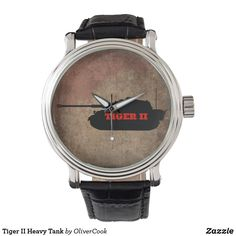 Shop Zazzle's selection of Military watches & choose your favourite design from thousands of spectacular options. Tiger Ii, Military, Watches, Men, Accessories, Shopping, Wristwatches, Clocks, Guys