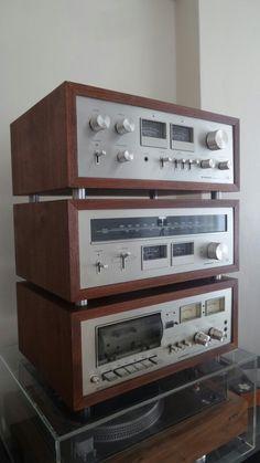 Pioneer vintage set